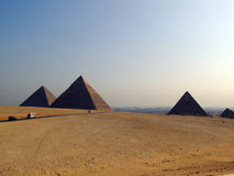 07 pyramides de giza Images libres de droits
