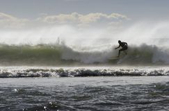 07 som surfar Royaltyfria Foton