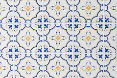 070 glasade portugisiska tegelplattor Royaltyfria Bilder