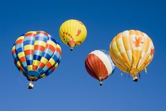 0734热的气球 库存照片
