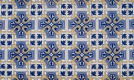 078 застеклили португальские плитки Стоковое Изображение RF