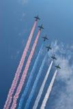 079 pokaz lotniczy Zdjęcie Royalty Free
