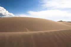 08个沙丘极大的国家公园蜜饯沙子 库存照片