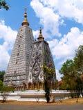 08位佛教徒stupa 库存照片