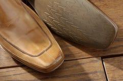 08双豪华鞋子 库存图片