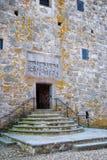 08座城堡glimmingehus 库存照片