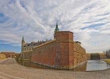 08座城堡kronborg 库存照片