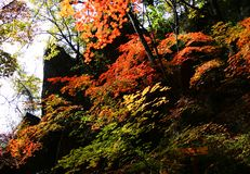 08座瓷guanmenshan山 库存照片