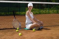 08网球 库存图片