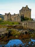 08 écossais des montagnes de château Photographie stock libre de droits