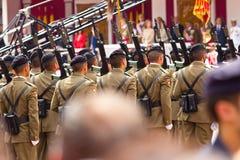 08 ένοπλες δυνάμεις Βαγιαδολίδ ημέρας Στοκ φωτογραφία με δικαίωμα ελεύθερης χρήσης