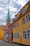 08 centre Helsingor miasteczko Obraz Royalty Free