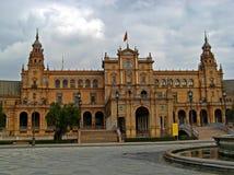 08 de espana plaza sevilla Arkivbilder