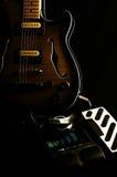 08 gitar rocznik Fotografia Royalty Free