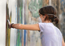 08 grafiti 免版税库存照片