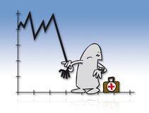 08 kryzys Zdjęcie Stock
