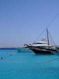 08 luksusowych jachtów Zdjęcia Royalty Free