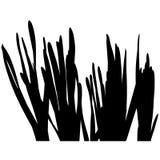 08 sylwetka kwiecista Obrazy Stock