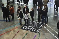 080巴塞罗那方式 免版税库存照片