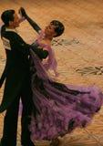 09场比赛舞蹈热病 免版税库存图片