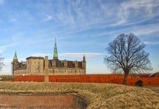 09座城堡kronborg 图库摄影
