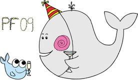 09条庆祝的鱼pf 免版税库存图片