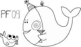 09条庆祝的鱼pf 库存图片