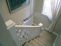 09楼梯 免版税库存照片