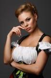 09美丽的妇女 免版税图库摄影
