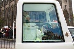 09 16 2010年本尼迪克特・爱丁堡教皇苏格兰 库存照片