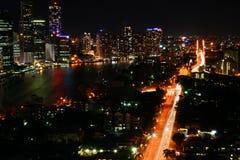 09 2008 nye de Brisbane Photographie stock libre de droits