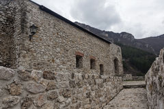 中世纪被加强的大厦在特拉夫尼克09 库存照片