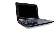 09 b黑色计算机膝上型计算机屏幕 免版税库存图片