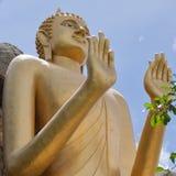 09 Buddha pozycja Obrazy Royalty Free