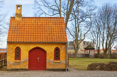09 centre Helsingor miasteczko Obrazy Royalty Free