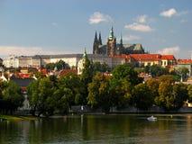 09 château Prague Photos libres de droits