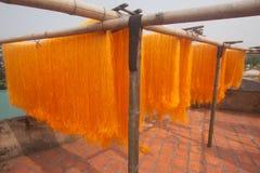 09 dryingnudlar Arkivfoto