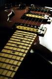 09 gitar rocznik Zdjęcia Royalty Free