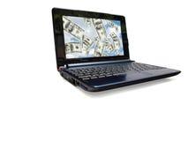 09 komputerów d laptop Obraz Royalty Free