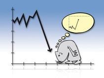 09 kryzys Fotografia Stock