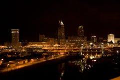 09 linia horyzontu Cleveland Zdjęcie Stock