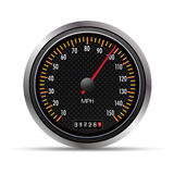 09 Speedometer. Professional  illustration for your website, application, or presentation. The graphic can easily be edited colored individually and be scaled to Stock Photo