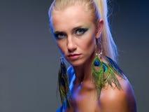 0909 dziewczyn portret Obraz Royalty Free