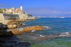 097 Antibes nakrętki d Riviera Zdjęcie Stock