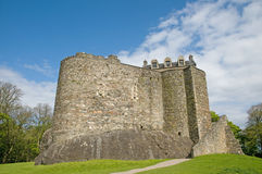 0f结构城堡 免版税库存图片