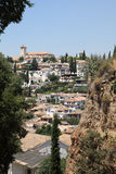 0ld town of Granada, Spain Stock Image