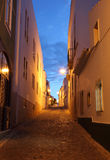 0ld town of Lagos at dusk. Portugal Royalty Free Stock Photography
