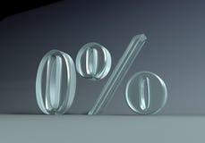 0percent Immagini Stock