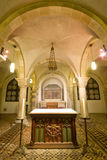 1ò. CEN. cripta na igreja do St Servaas, Maastricht Imagem de Stock