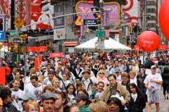 1ò O FEI REVLON funciona/caminhada para as mulheres, NY Fotografia de Stock